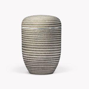 Stalen urn met hoogwaardig steenpoeder coating